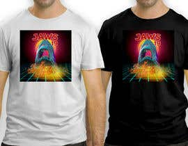 #55 untuk BAck to the future 2 JAws 19 Holographic Shark Tee Shirt Design oleh antoniustoni