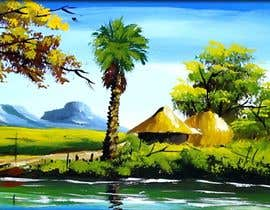 #4 for Village Landscape & Fantasy Devotional Digital Artistry Project by muaazbintahir