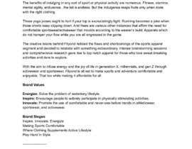 Nro 25 kilpailuun Looking for someone to create a brand story/value/slogan for our brand new Athletic Brand käyttäjältä suyashmishra96
