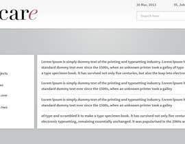 Nro 3 kilpailuun application website design käyttäjältä tania06
