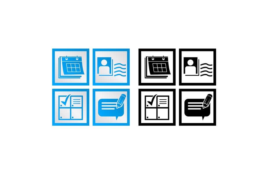 Inscrição nº 5 do Concurso para Design some Icons for website