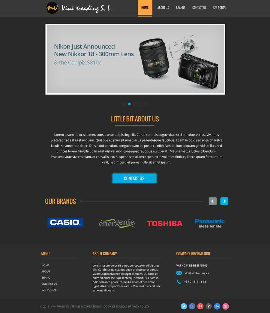 Konkurrenceindlæg #17 for Build a Corporate Website & Re-Design Company Logo