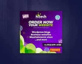Nro 15 kilpailuun Design a Facebook stunning post for wordpress services käyttäjältä VekyMr