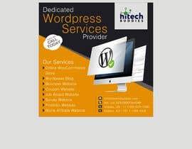 Nro 17 kilpailuun Design a Facebook stunning post for wordpress services käyttäjältä YPAL66