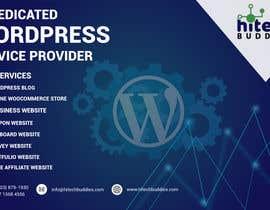 Nro 12 kilpailuun Design a Facebook stunning post for wordpress services käyttäjältä SinhaNeeta24