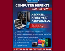 #151 untuk Design poster A1 for a computer company oleh FarooqGraphics