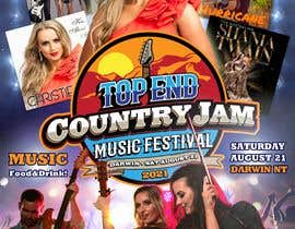 #49 for Create Posters for a Country Jam by xetus