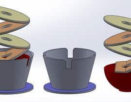 km783612 tarafından 3D Plant Pot Design için no 40
