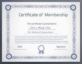 #6 for Design a membership certificate by tanzeelhussain
