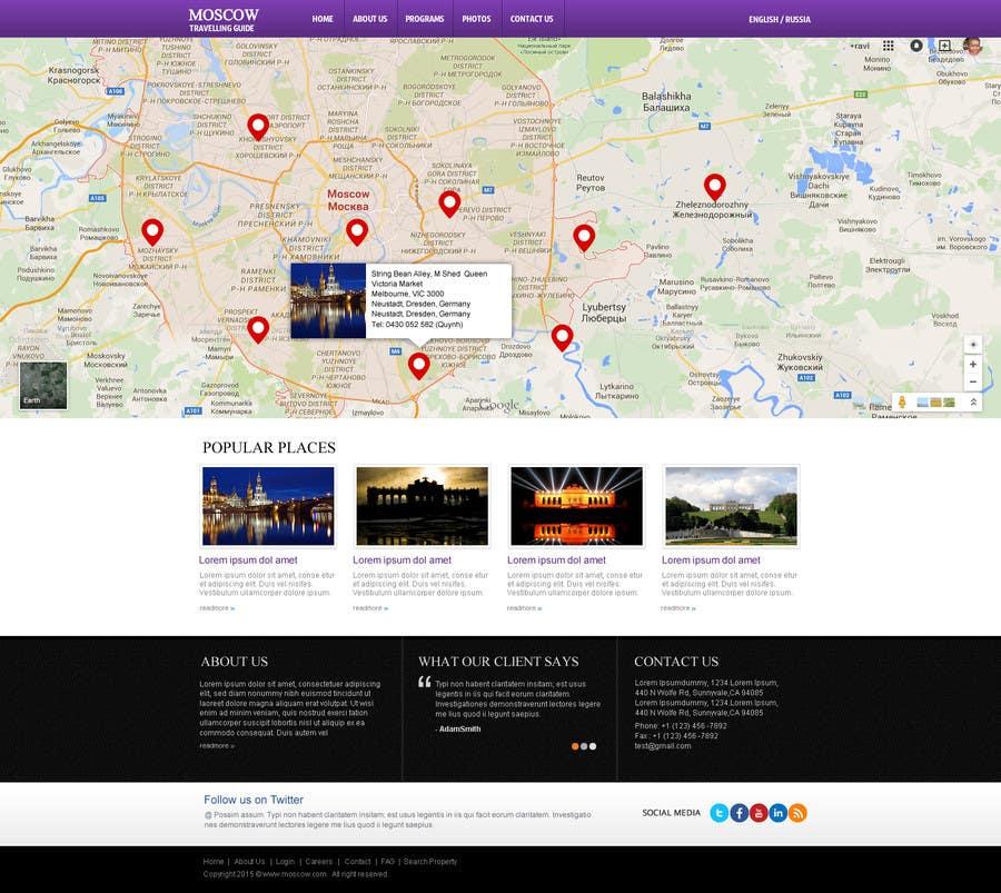 Konkurrenceindlæg #                                        6                                      for                                         Design a Website Mockup for City Travelling Guide