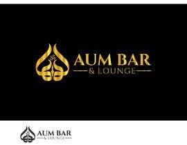Nro 180 kilpailuun Logo Design for Aum Bar & Lounge käyttäjältä beautyakter0163