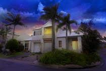 Turn 2 daytime real estate photos into beautiful twilights için Photoshop24 No.lu Yarışma Girdisi