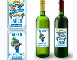 #7 для Design a Wine label for center of table at Birthday and Baptism event от Zainali63601