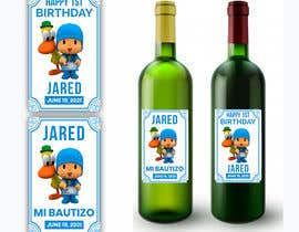 #9 для Design a Wine label for center of table at Birthday and Baptism event от Zainali63601