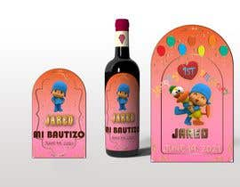 #22 для Design a Wine label for center of table at Birthday and Baptism event от raazrahman57