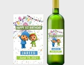 #14 для Design a Wine label for center of table at Birthday and Baptism event от Aashirali333
