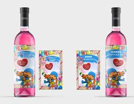 #24 для Design a Wine label for center of table at Birthday and Baptism event от neauas21