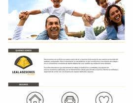 #36 para Desarrollar logo y pagina web sencilla para agente de seguros por belenpoyo