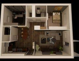 #24 untuk 2 bedroom apartment interior design oleh prodesigning10