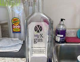 #5 for Purple gin silk screened Label af AlbinaNova