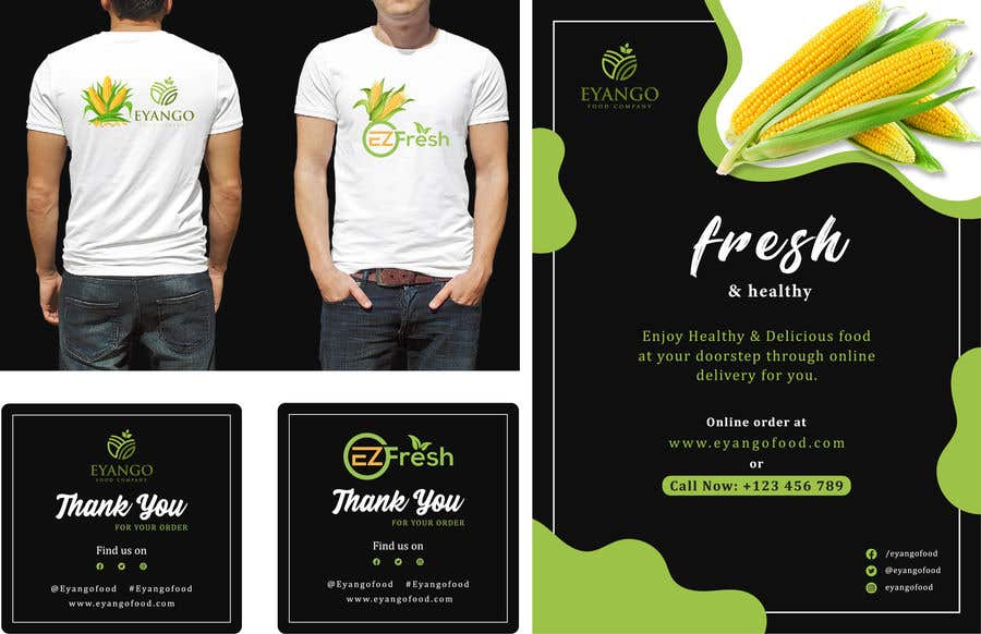 Proposition n°                                        410                                      du concours                                         I want designs for items for my company