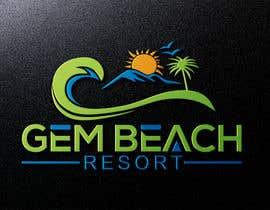 Nro 208 kilpailuun Gem Beach Resort logo käyttäjältä ra3311288