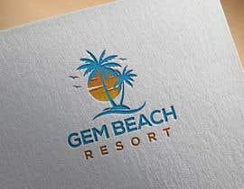Nro 154 kilpailuun Gem Beach Resort logo käyttäjältä Aklimaa461