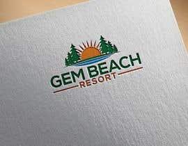Nro 168 kilpailuun Gem Beach Resort logo käyttäjältä sohanursayham1