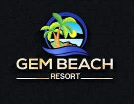 Nro 217 kilpailuun Gem Beach Resort logo käyttäjältä naimdg