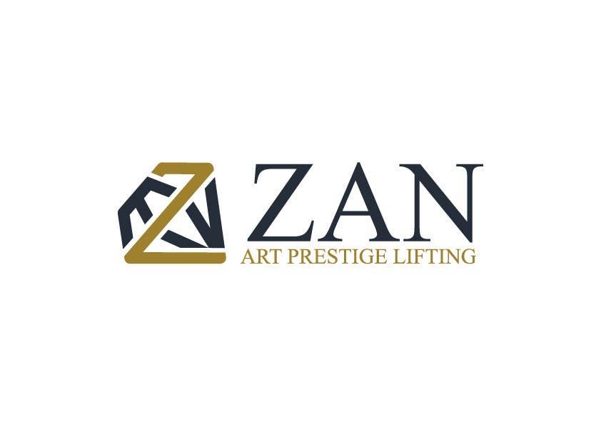 Kilpailutyö #58 kilpailussa Разработка логотипа for ZAN ART PRESTIGE LIFTING