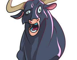 #62 for Cartoon Caricature of a Bull af Cornman