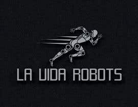 #175 for Logo Design for La Vida Robots (www.lavidarobots.org) af BlackWhite13