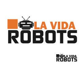 adnanfaisal289 tarafından Logo Design for La Vida Robots (www.lavidarobots.org) için no 86