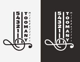 Nro 33 kilpailuun Custom Typography Graphic Design - 54321 Too Many (milk bottles) käyttäjältä sribala84