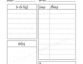 #45 for PDF Templates for Journaling (Printed or digital) af safurazaid84