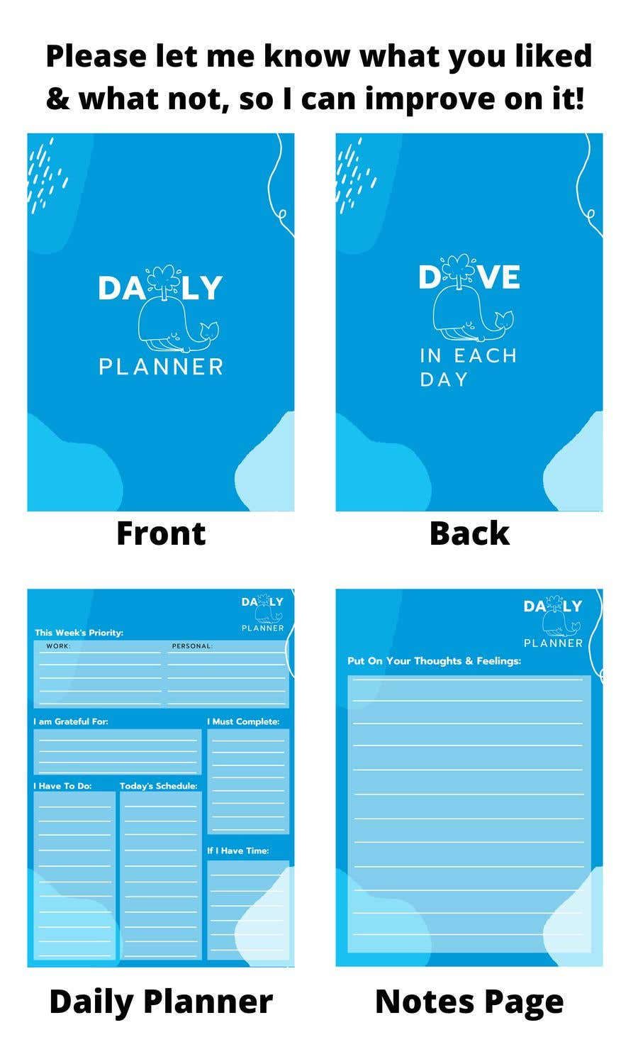 Proposition n°                                        34                                      du concours                                         Design book cover (Cover and redesign our planner)