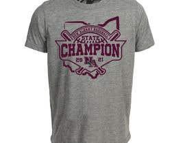 #252 untuk New Albany Ohio Baseball State Champs Tee Shirt Design oleh GDProfessional