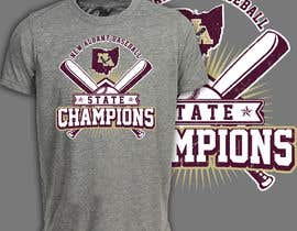#233 untuk New Albany Ohio Baseball State Champs Tee Shirt Design oleh romimulawarman