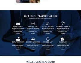 Nro 255 kilpailuun New Attorney Website käyttäjältä Muzeative