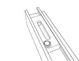 #16 for Make a technical line-art drawing of a part. af WAJIDKHANTURK1