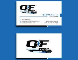 #153 untuk Business Cards for Trucking Company oleh pratikvartak