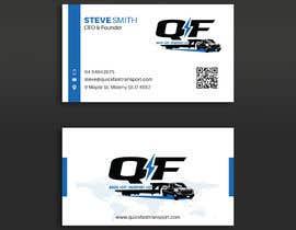 #155 untuk Business Cards for Trucking Company oleh pratikvartak