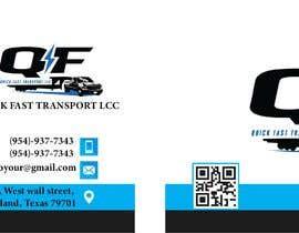 #151 untuk Business Cards for Trucking Company oleh laibakhurshid