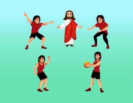 #18 untuk Jesus and The Starting 5 oleh azharart95