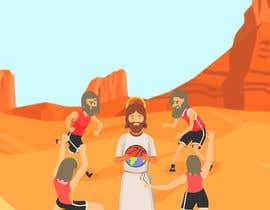 #22 untuk Jesus and The Starting 5 oleh Aravindh4031