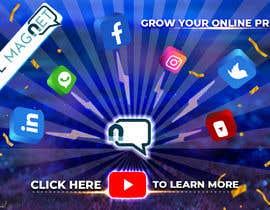 """Nro 4 kilpailuun Seven YouTube Thumbnails for """"Social Magnet"""" käyttäjältä ashawki"""