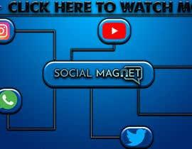 """Nro 11 kilpailuun Seven YouTube Thumbnails for """"Social Magnet"""" käyttäjältä ShreyasBhuyan"""