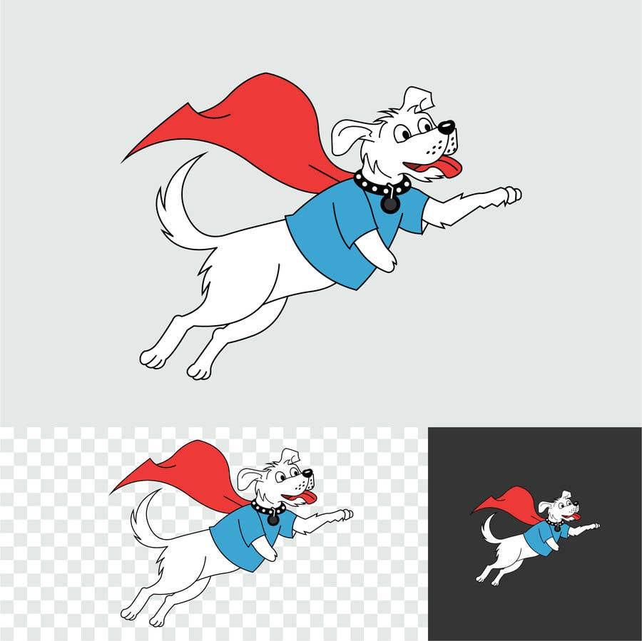 Konkurrenceindlæg #                                        30                                      for                                         Hand Drawing (logo) of ZAM the super dog