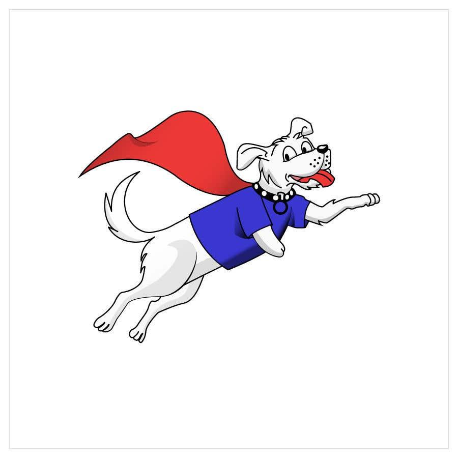 Konkurrenceindlæg #                                        22                                      for                                         Hand Drawing (logo) of ZAM the super dog