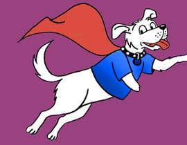 #40 for Hand Drawing (logo) of ZAM the super dog af lupalupi